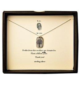 """BU Jewelry BU-Inspirational Necklace-""""A Billion Trees"""""""