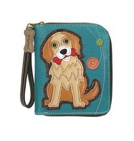 Chala Bags Wallet-Zip Around-Golden Rvtr