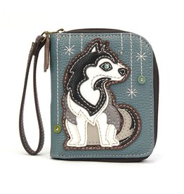 Chala Bags Wallet-Zip Around-Husky