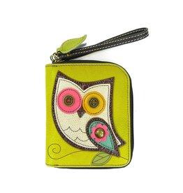 Chala Bags Wallet-Zip Around-Owl II