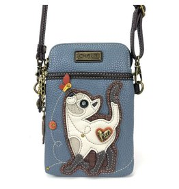 Chala Bags Crossbody-Cell Phone Bag-Slim Cat