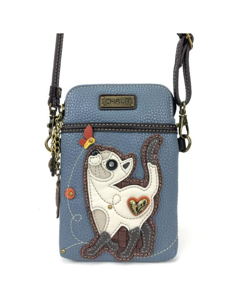 Chala Bags Crossbody Cell Phone Bag Slim Cat
