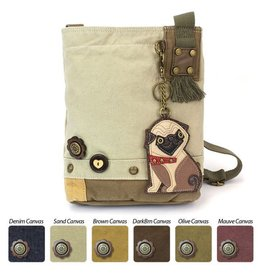 Chala Bags Crossbody-Patch-Pug-SAND