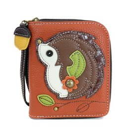 Chala Bags Wallet-Zip Around-Hedgehog