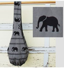 Art Studio Company Veggie-Dye Sling Bag-Elephant (Grey)