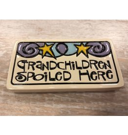 Spooner Creek Ceramic Magnet - 'Grandchildren'