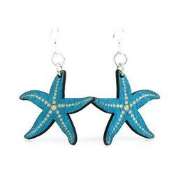 Green Tree Earrings Wood-Starfish
