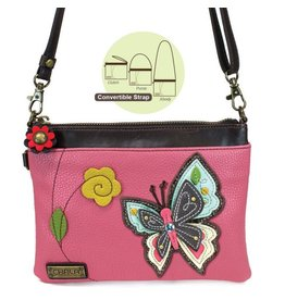 Chala Bags Crossbody-Mini-New Butterfly-Pink