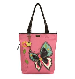Chala Bags Tote-Everyday Zip II-New Butterfly-Pink