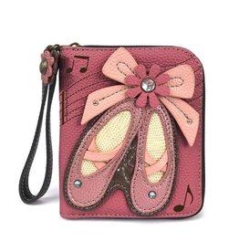 Chala Bags Wallet-Zip Around-Ballet Shoes