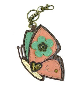 Chala Bags Key Fob, Coin Purse-Butterfly