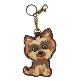 Chala Bags Key Fob, Coin Purse-Yorkshire Terrier