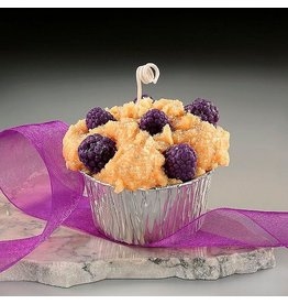 Honey Hive Handmade Blackberry Cobbler Muffin CANDLE