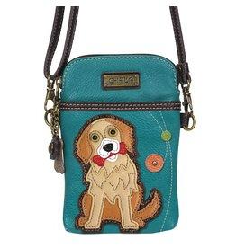Chala Bags Crossbody-Cell Phone Bag-Golden Retriever