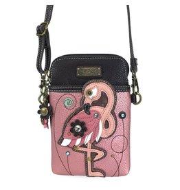 Chala Bags Crossbody-Cell Phone Bag-Flamingo