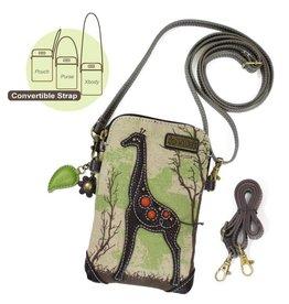 Chala Bags Crossbody-Cell Phone Bag-Giraffe