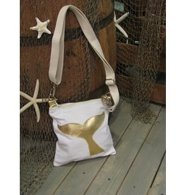 Crossbody Bag-Whale Tail-Gold