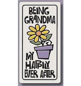 Spooner Creek Ceramic Magnet - Being Grandma
