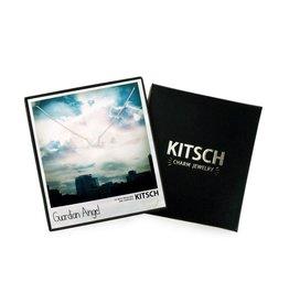 Kitsch Kitsch-Guardian Angel Silver Set of Necklace & Earrings