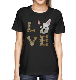 TSF Design T-Shirt - LOVE Bulldog
