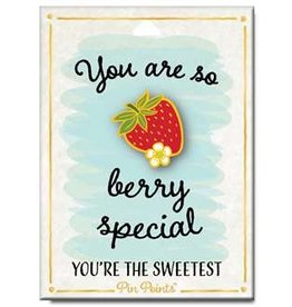 My Word Signs Pin Point-You Are So Berry Special - STRAWBERRY
