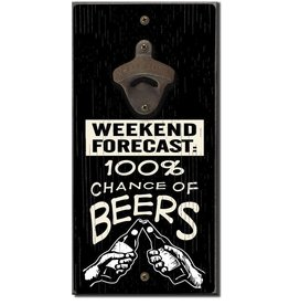 My Word Signs Bottle Opener-WEEKEND FORECAST