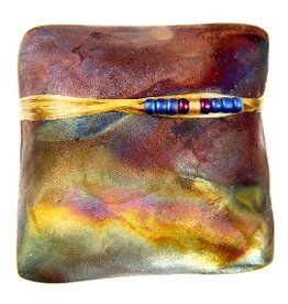 J Davis Studio Innerspirit Rattle-Raku Square Smooth Sailing