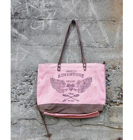 Chloe & Lex Tote-Pink Adventure Bag