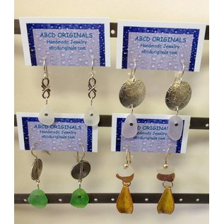 ABCD Originals Sea Glass Earrings
