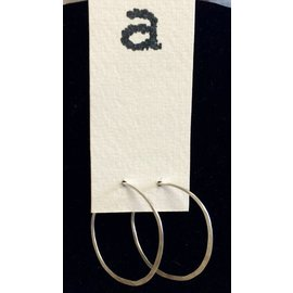 Amy Vander Els Sterling Silver Hoops Earrings Medium