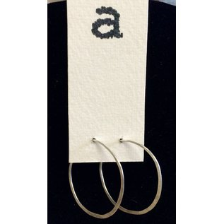 Amy Vander Els Sterling Silver Hoops Earrings Medium