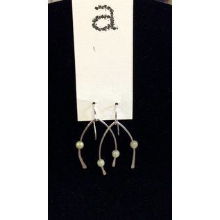 Amy Vander Els Sterling Silver Hammered Dangles