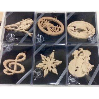 Artasia Wood Cut Ornaments