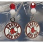 Beadwitching Jewelry Boston Red Sox Earrings