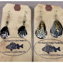 New England Fashion Tackle Fishing Tackle Earrings