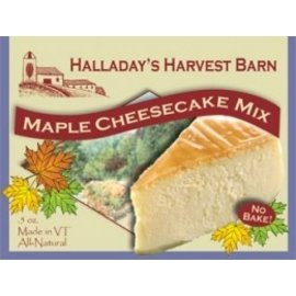 Halladay's Barn Maple Cheesecake Mix