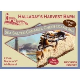 Halladay's Barn Sea Salted Caramel Cheesecake Mix