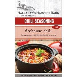 Halladay's Barn Firehouse Chili Seasoning - Hot