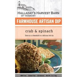 Halladay's Barn Crab and Spinach Artisan Dip Mix