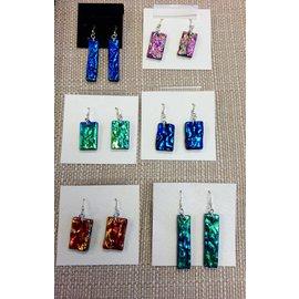 Joan Major Designs Dichroic Glass Earrings