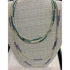 "Joan Major Designs 45"" Seed Bead Necklace"