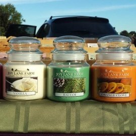 Joy Lane Farm Soy Candle Jar