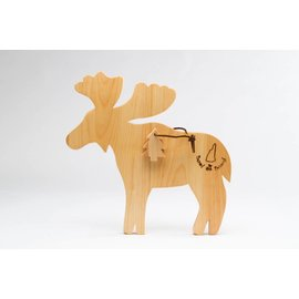 NH Bowl & Board Moose Cutting Board