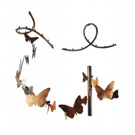 Poppy Seed Wind Chimes - Butterfly - The Poppy Seed