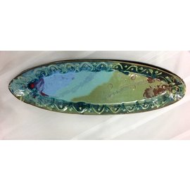Rainmaker Pottery Oval Platter