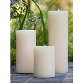Seapoint Chandlers Beeswax 2x6 Column Pillar Candle
