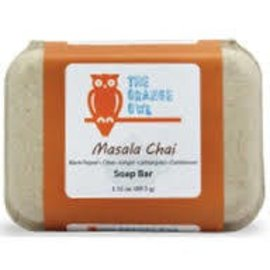 The Orange Owl Masala Chai Soap Bar