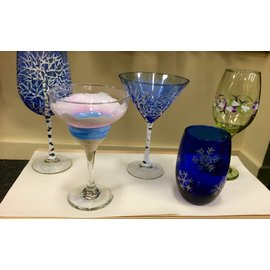 The Painted Vessel Painted Glasses