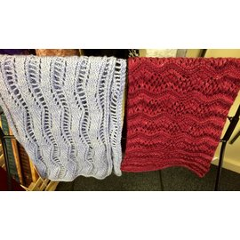 Too Wooly Designs Knitted Scarf