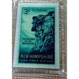 Lindon Associates NH Live Free or Die Key Chain Ring
